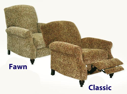 Dramatic tapestry chenille fabric upholstery available in fawn or classic tone make this chair look classy bringing elegance to any home. & Garrison Reclining Chair in Fawn Tapestry Chenille by Catnapper ... islam-shia.org
