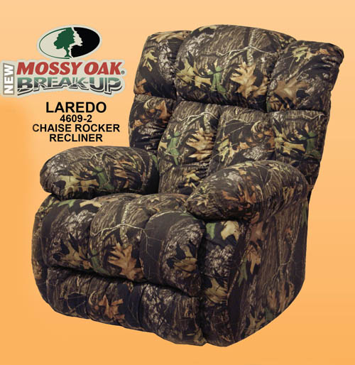 Laredo Camouflage Chaise Rocker Recliner By Catnapper