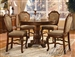 Chateau De Ville 5 Piece Counter Height Dining Set in Cherry Finish by Acme - 04082