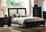 Ireland Bed in Black Finish by Acme - 04160Q