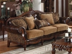 Dreena Sofa in Cherry Finish by Acme - 05495