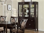 Vienna Dark Finish Buffet & Hutch by Acme - 08324