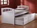 San Marino Captain Bed in White Finish by Acme - 09145