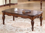 Dreena Coffee Table in Cherry Finish by Acme - 10290