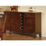 Donavan Walnut Finish Server by Acme - 11804