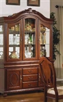 Classique Buffet & Hutch in Cherry Finish by Acme - 11835