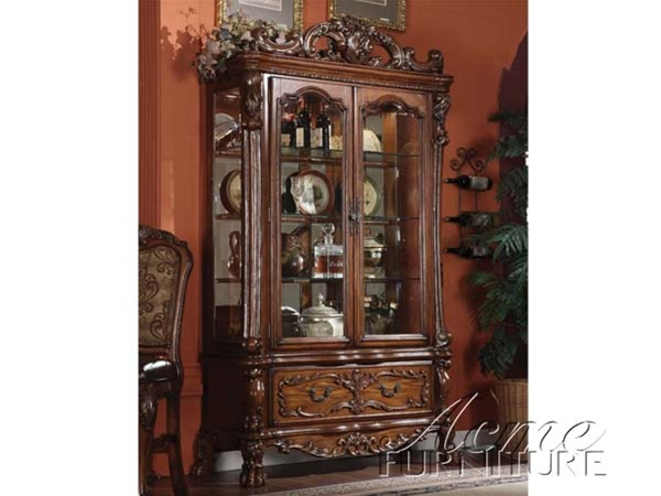 Dresden Buffet And Hutch In Cherry Finish By Acme 12155