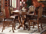 Dresden 5 Piece Counter Height Dining Set in Cherry Finish by Acme - 12160