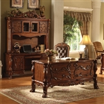 Dresden 3 Piece Home Office Set in Cherry Finish by Acme - 12169-S