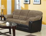 Connell Brown Corduroy / Espresso Bycast Sofa Sleeper by Acme - 15948