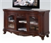 Remington 65 Inch TV Stand in Brown Cherry Finish by Acme - 20278