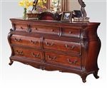 Dorothea Marble Top Buffet in Cherry Finish by Acme - 20595-B