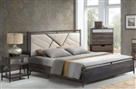 Adrianna Bed in Walnut Finish by Acme - 20950Q