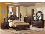 Daruka 6 Piece Bedroom Set in Cherry Finish by Acme - 21310