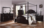 Charisma Canopy 6 Piece Bedroom Set in Dark Espresso Finish by Acme - 21580