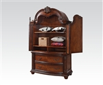 Nathaneal TV Armoire in Tobacco Finish by Acme - 22317