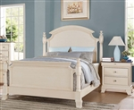 Tahira Poster Bed in Ivory Finish by Acme - 24420Q