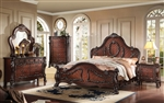 Westerland 6 Piece Bedroom Set in Dark Cherry Finish by Acme - 26010