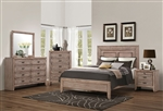 Ireton 6 Piece Bedroom Set in Caramel Finish by Acme - 26030