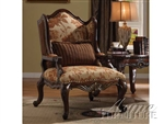Remington Accent Chair in Brown Cherry Finish by Acme - 50157