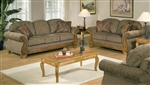 Torrey Tomato 2 Piece Fabric Sofa Set by Serta Upholstery  - 50325-S