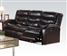 Noah Reclining Sofa in Espresso Leather by Acme - 50830