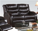 Noah Reclining Loveseat in Espresso Leather by Acme - 50831