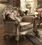 Vendome Chair in Gold Patina Finish by Acme - 53012