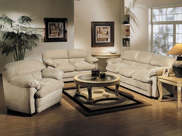 Bella 2 Piece Khaki Microfiber Sofa Set By Acme 5550 S
