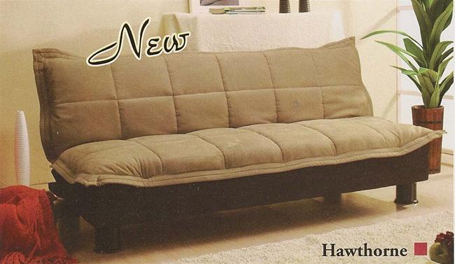 Hawthorne Sofa Bed In Taupe Microfiber Cover By Acme 5570