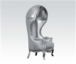 Jana Neo Classic Silver Throne Chair Accent Chair by Acme - 59116