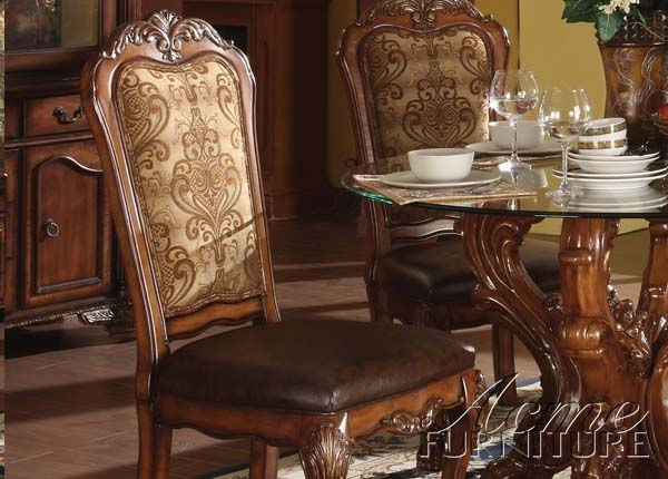 Dresden 5 Piece Dining Set In Cherry Finish By Acme 60010
