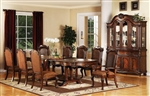 Remington 7 Piece Dining Set in Brown Cherry Finish by Acme - 60030