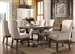 Landon 7 Piece Dining Set in Salvage Brown Finish by Acme - 60737
