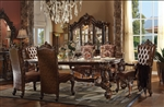 Versailles 7 Piece Dining Set in Cherry Oak Finish by Acme - 61115