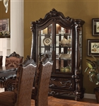 Versailles Curio Cabinet in Cherry Oak Finish by Acme - 61158