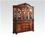 Nathaneal Buffet and Hutch in Tobacco Finish by Acme - 62314