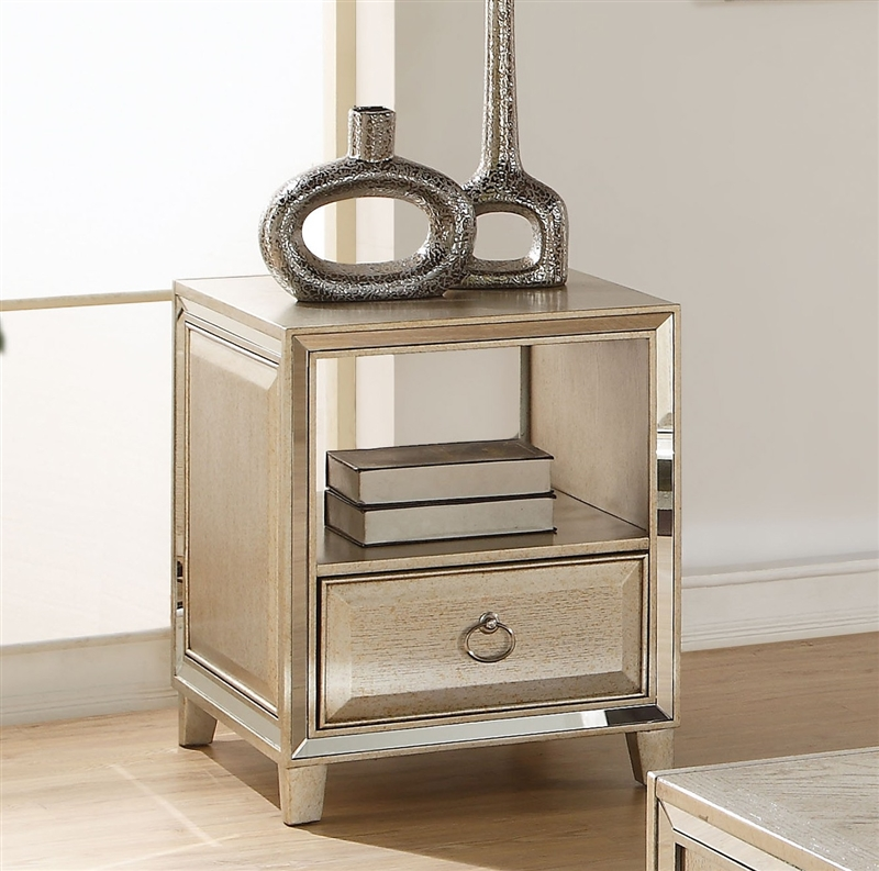Lift Top Coffee Table Antique: Voeville Lift Top Coffee Table In Antique Gold Finish By