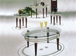 Marseille 3 Piece Accent Table Set by Acme - 8137