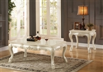 Dresden Coffee Table in Antique White Finish by Acme - 83260