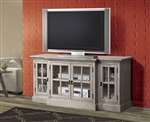 Julian 64 Inch TV Console in Sandwashed Gray Finish by Acme - 91180