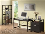 Loakim 3 Piece Home Office Set in Wenge Finish by Acme - 92052-S