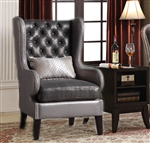 Chantelle 2 Piece Accent Chair and Table Set by Acme - 96208-2