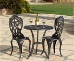 Fiesta 3pc Bistro Set by Bridgeton Moore 10473717