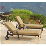 Charleston 3pc Chaise Outdoor Patio Set by Bridgeton Moore 10632298