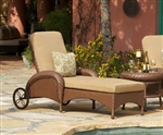 Villanova Woven Outdoor Chaise Lounge by Bridgeton Moore 10732205