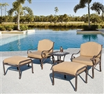 Fiesta 5pc Club Chair Set by Bridgeton Moore 10865930