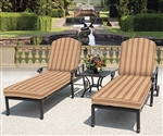 Brentwood 3pc Outdoor Chaise Set by Bridgeton Moore 10865964