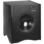 "Atlantic Technology - 12"" THX Select Powered Subwoofer 350 watt - Black ATL-642eSB-BLK"