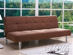 Darlington Coffee Microfiber Adjustable Sofa Bed by Acme - 05996
